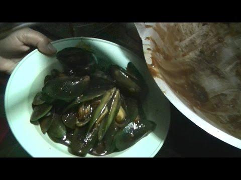 Jakarta Street Food 540 Lip Mussels Dower Kerang Bibir Doer BR TV 4049
