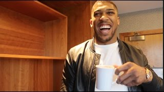 ANTHONY JOSHUA UNCUT - REFLECTS ON KLITSCHKO WIN, BREAKS FIGHT DOWN,  FURY & MAYWEATHER v McGREGOR