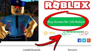 ROBLOX | IS IT WORTH PAYING 100 ROBUX ON THIS MAP?
