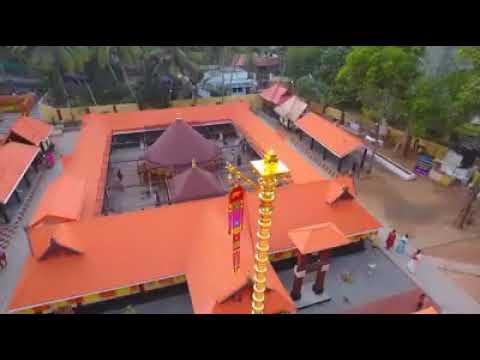 Balaramapuram Thalayal mahadeva temple golden flag post