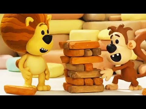 Raa Raa The Noisy Lion   Ooo Ooo's Wriggly Jiggly Game   Full Episodes   Cartoon For Kids