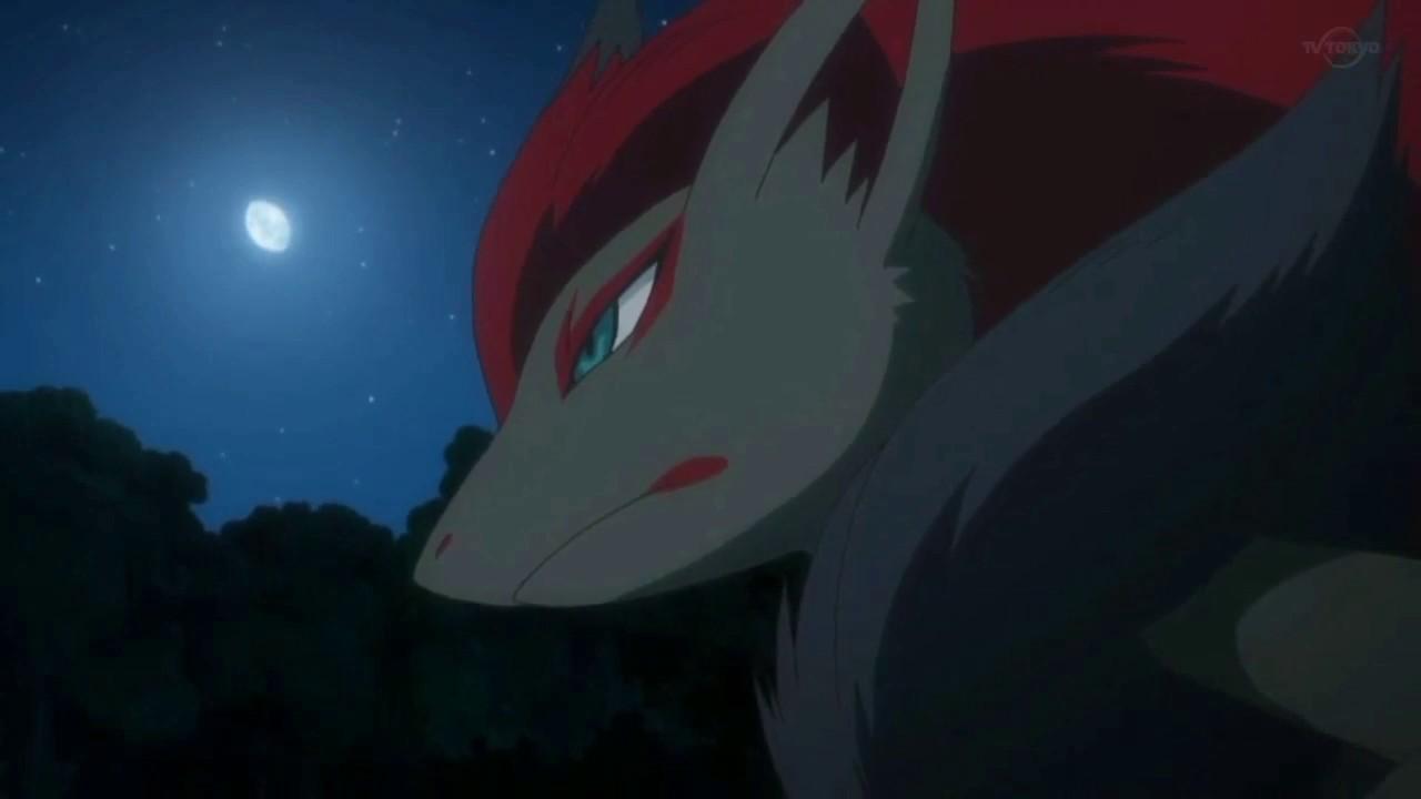 Zoroark finds Gladion!「Pokemon Sun and Moon episode 127」 - YouTube