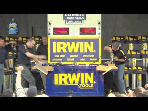 IRWIN Tools Ultimate Tradesman Challenge - Global Finals - March 2011