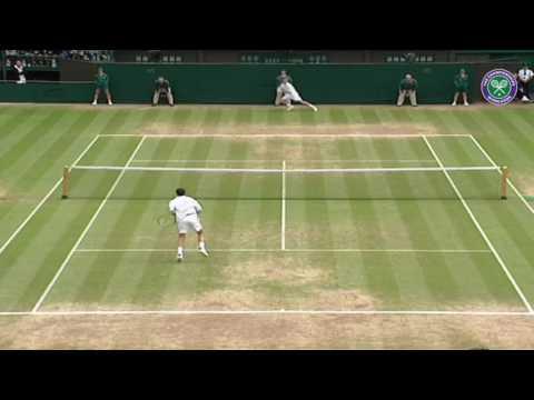 Hewitt v Henman: Classic Wimbledon Rally