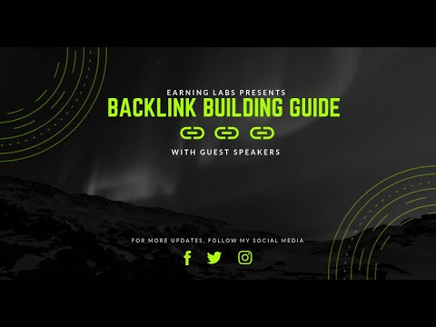 Backlink Building Guide A to Z