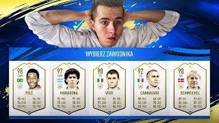 3 IKONY! MÓJ NAJLEPSZY DRAFT! | FIFA 19 ULTIMATE TEAM