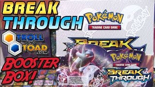 Pokemon Cards- Opening a Pokemon TCG BREAKThrough Booster Box!