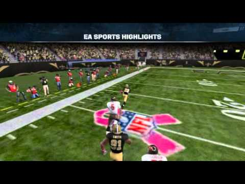 Madden 12 l 1/3 Rashean Mathis Interception Same Game