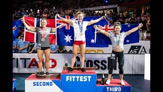 2019 Reebok Crossfit Games Award Ceremony
