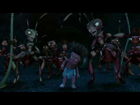 The ants throw that boy easily, which scares him streaming vf