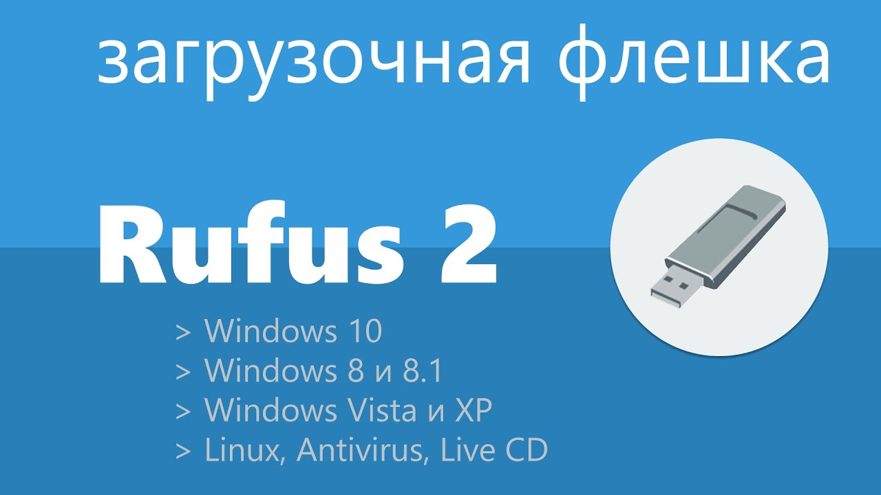 rufus как записать windows 10