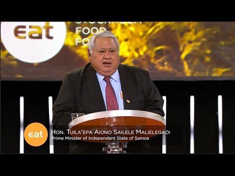 Hon.Tuila'epa Aiono Sailele Maleielegaoi – The frontlines of climate change