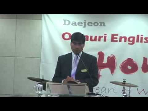 Pastor Bhatta preaching, Withstanding the...