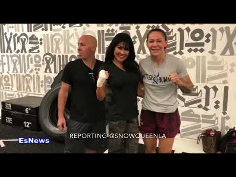 Cris Cyborg vs Holly Holm Cyborg Going For The KO - EsNews Boxing