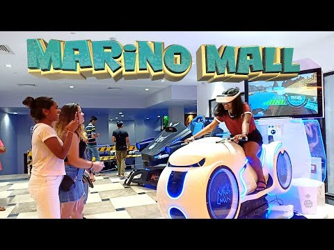 Marino Mall  නවමු අත්දැකීමක් | Gaming VR Arcade and So much more!