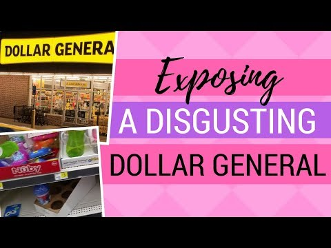 Exposing A DISGUSTING Dollar General (Incl. Store #)