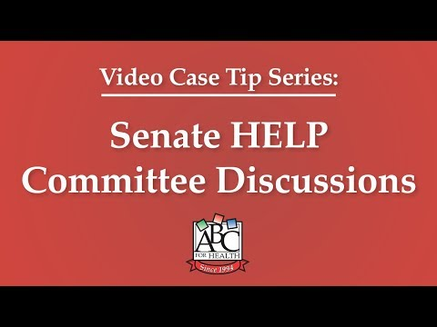 Senate HELP Committee Discussions