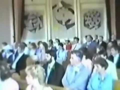 CFB Lahr - RC Church , August 1985  Wedding.wmv