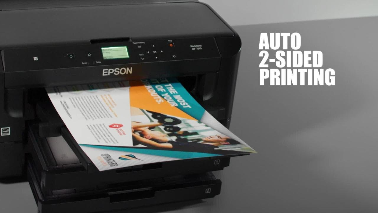 Epson WorkForce WF-7210 | Enhance Your Productivity with the Wide-Format  Printer