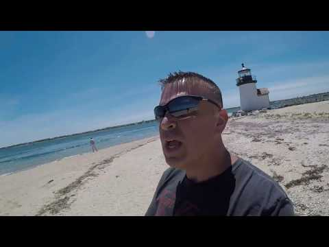 Brant Point Lighthouse on Nantucket GoPro Hero5