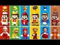 LEGO Super Mario - All Power-Ups Comparison (LEGO vs Game)