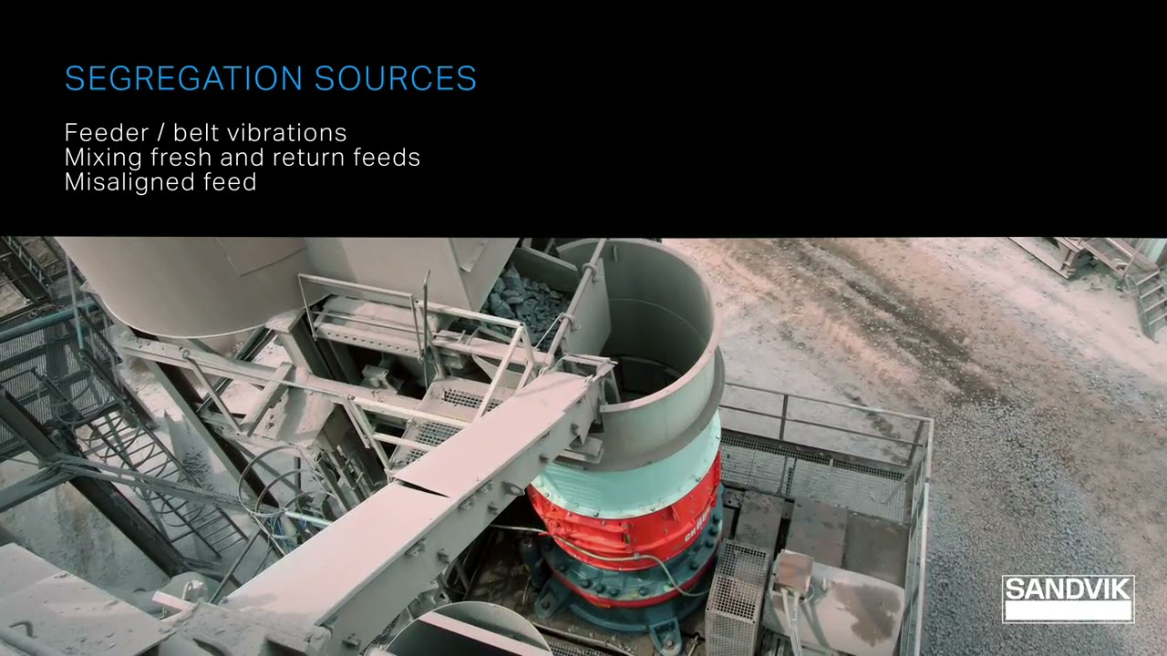 Rotating Feed Distributor - Upgrade your Crushing Chamber Right   Sandvik Rock Processing Solutions