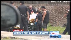 90-year-old woman in a police stand off