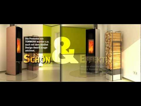 der echte speicherofen t line eco2 von tonwerk www doovi. Black Bedroom Furniture Sets. Home Design Ideas