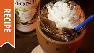 Iced Nilla-tella Coffee
