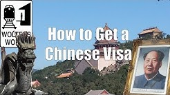 How to Get a Chinese Visa - Visit China