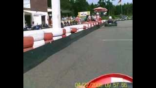 Haren Dankern GoKart Lada-ems.de mit on Board Camera auf Emsland Ring