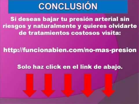 Remedios caseros para bajar la presion - Tension arterial..