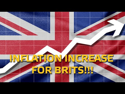 Inflation Increase For British Consumers