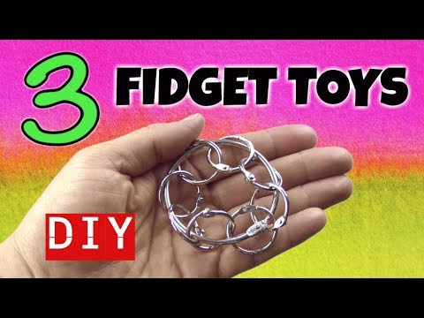 3 Simple Diy Fidget Toys New Fidget Toys For School How To Make
