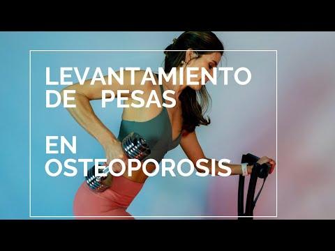 ¿Cómo levantar pesas cuando tengo osteoporosis?