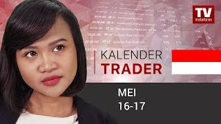 InstaForex tv news: Kalender Trader untuk 16 - 17 Mei: USD akan menjadi lebih kuat