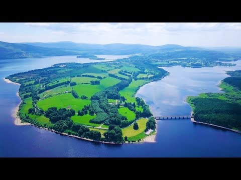 Ireland - Blessington Lakes   Aerial Drone Videos 4K   DJI Mavic Pro   JUN2018