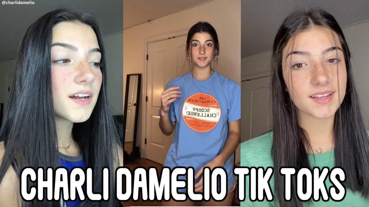 Charli D Amelio Tik Tok Compilation Popular Tik Toks 2019 Youtube