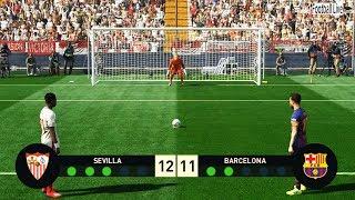 PES 2019 | Sevilla vs Barcelona | Penalty Shootout | Gapmeplay PC