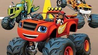 Вспыш и Чудо-Машинки Гонка Года \ Blaze and the Monster Machines Race of the Year