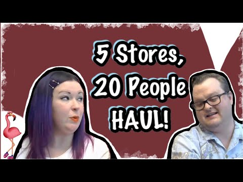 Live Haul! See What We Got at the Connecticut Thrifting Meet Up!