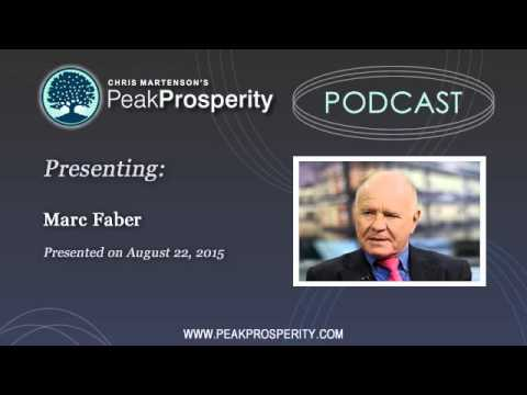 Marc Faber: The Global Economy Is Entering An Epic Slump