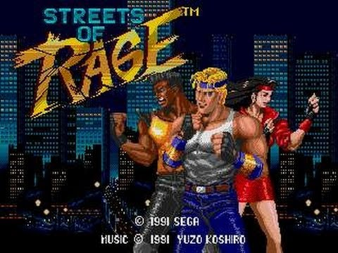 Streets Of Rage Bare Knuckle Mega Drive) FULL GAME STAGE 8 (FINAL BOSS) HD Walkthtough Gameplay