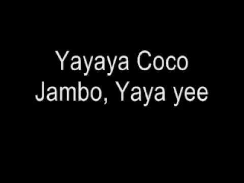 Coco Jambo Mr President Lyrics
