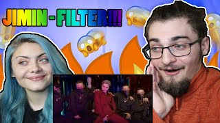 Me and my sister watch BTS JIMIN - Filter Live! for the first time (Reaction)