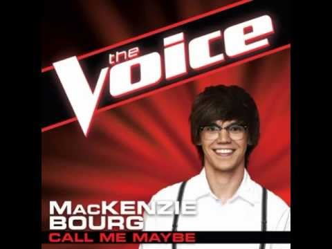"MacKenzie Bourg: ""Call Me Maybe"" - The Voice (Studio Version)"