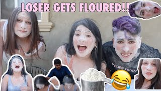 THE FLOUR CHALLENGE With the CASTRO SISTERS | Yoatzi