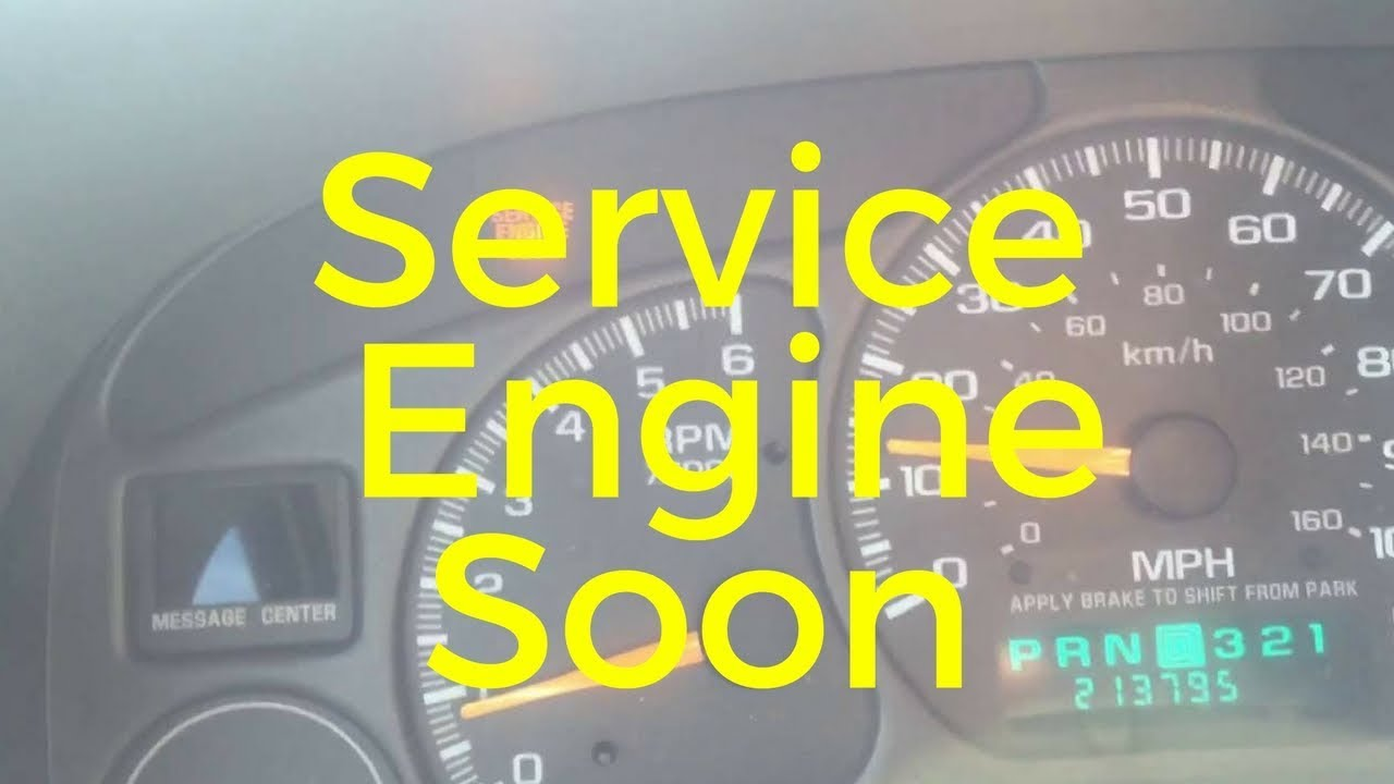how to clear service engine soon light bmw