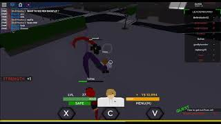 Best Tokyo Ghoul Game On Roblox + Test Out Prison Bikaku ( no skills )