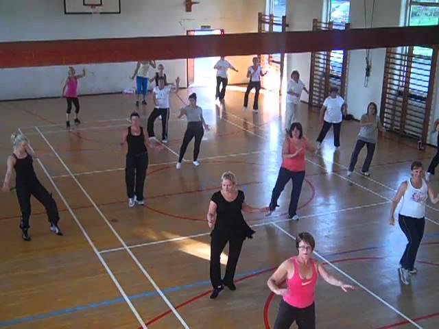 Zumba Fitness with Amanda . Cranbrook class. Gasolina